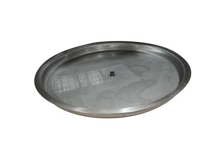 FIREPIT PANS WITH LIP