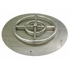 FIREPIT PAN WITH RING-FLAT