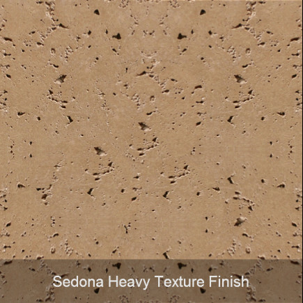 sedona heavy texture finish