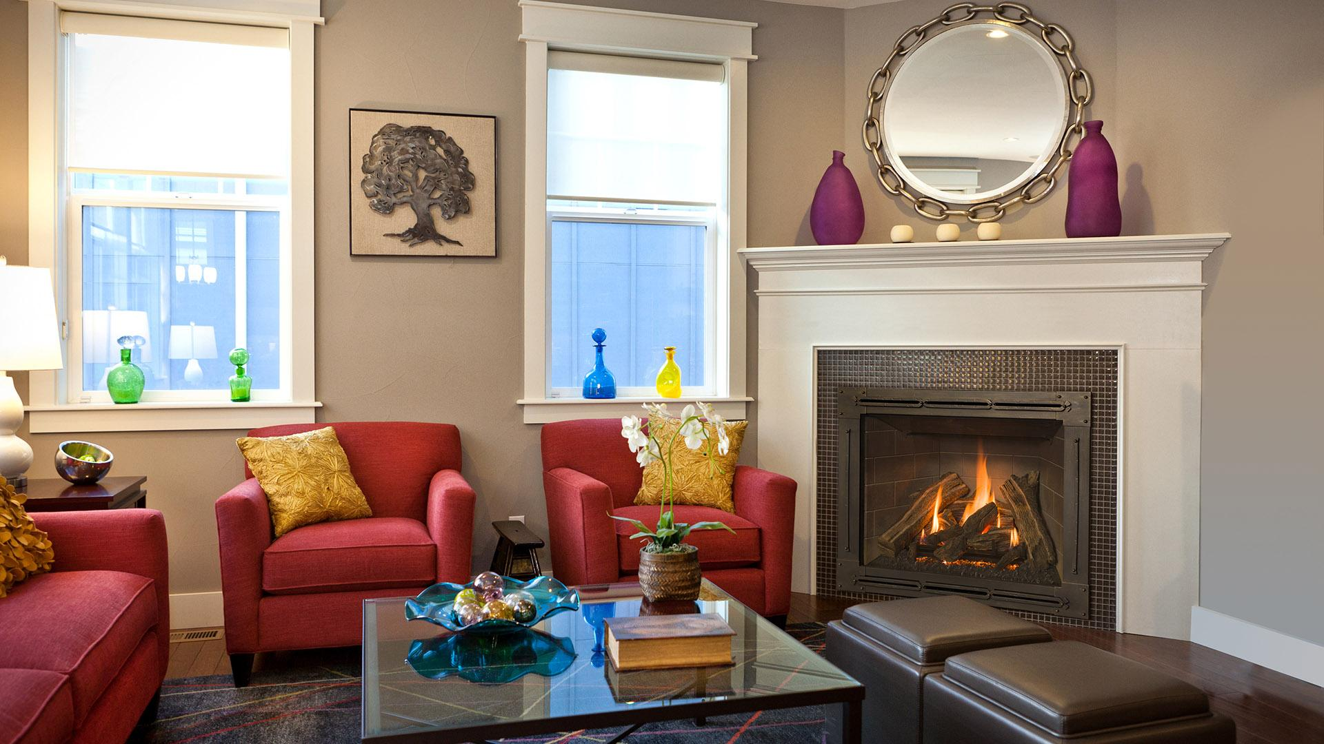 classic gas fireplaces clean view in san francisco bay area ca