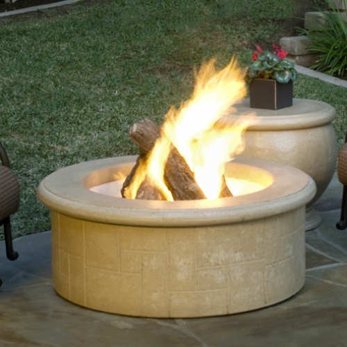 The fireplace element el dorado fire pit for Eldorado stone fire pit