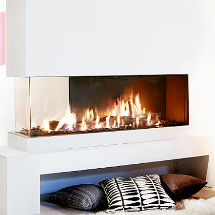 Buy modern gasfpl modern multi online lucius 140 room for Fireplace room divider