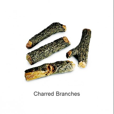 charred branches