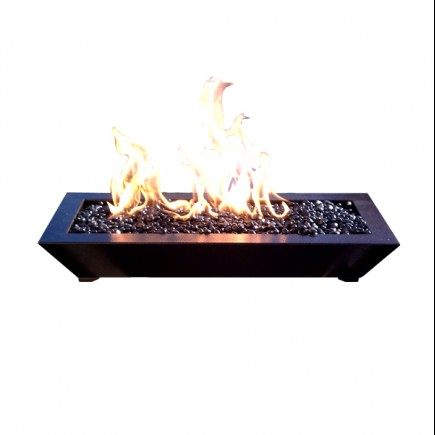 paramount fireplace pan dark copper