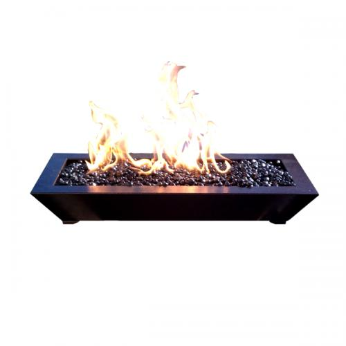 Paramount Fireplace Pan - Dark Copper