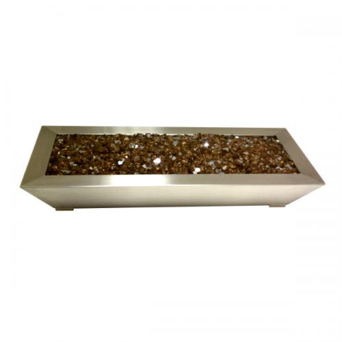 "24"" Stainless Steel Paramount Fireplace Pan"