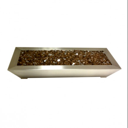paramount fireplace pan stainless steel