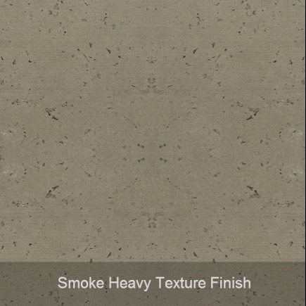 smoke heavy texture finish