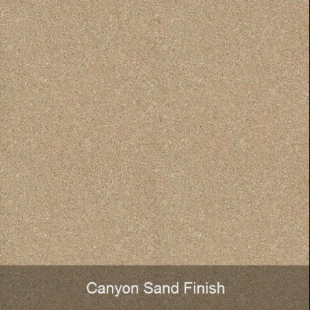 canyon sand finish