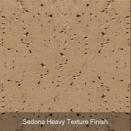 01 sedona heavy texture finish