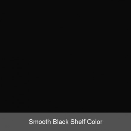 smooth black shelf color