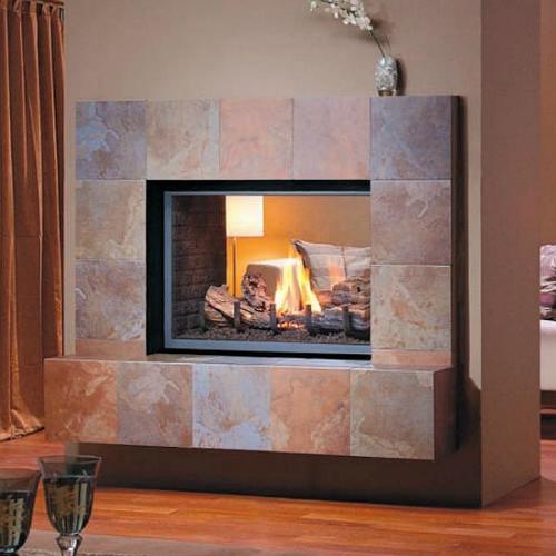 Montigo h series see thru for See thru fireplaces
