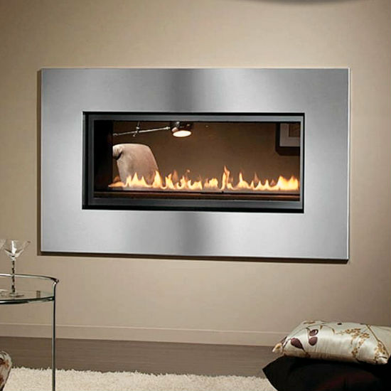 linear indoor thru vancouver custom dining through see room fireplace gas fireplaces