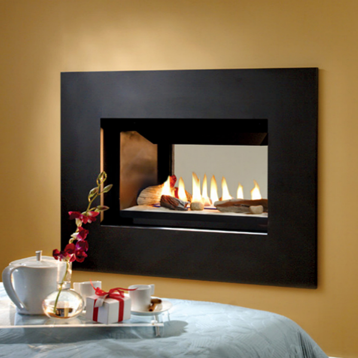 Buy Gas Fireplaces Online Skyline See Thru San Francisco Bay Area Ca The Fireplace Element