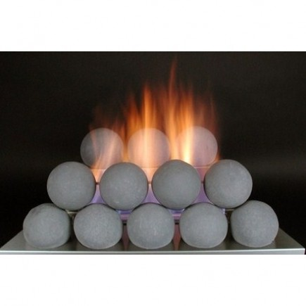 24 fireballs set 1 the fireplace element