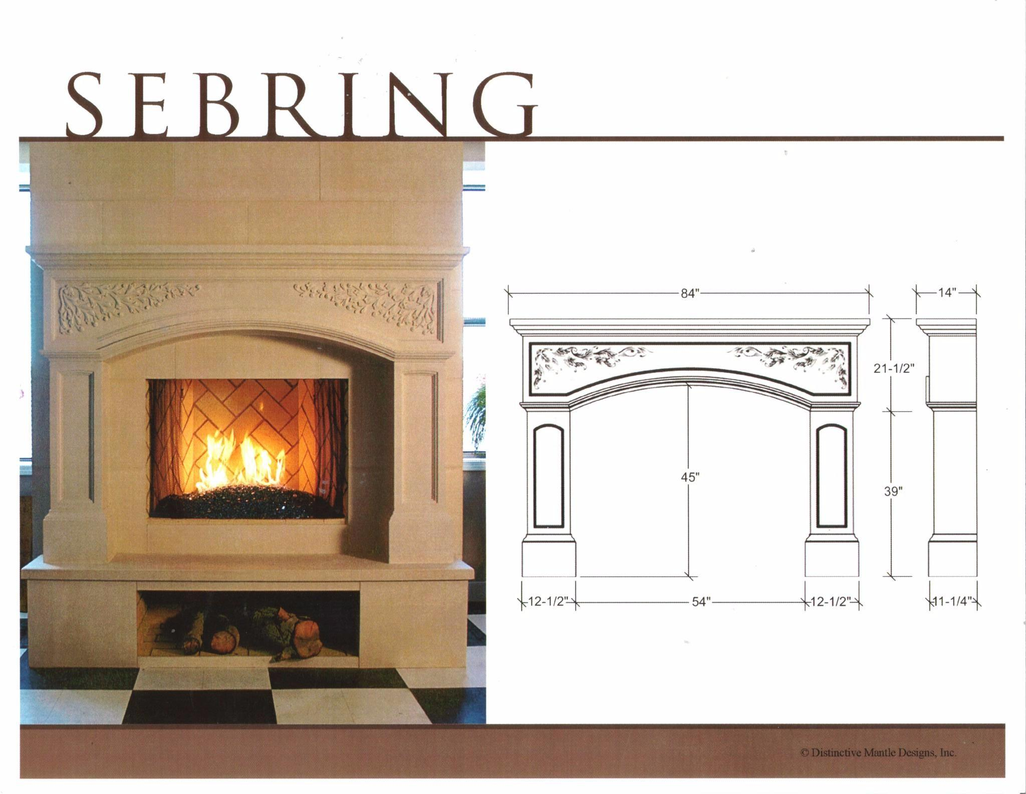 Ready Made Fireplaces : Cast stone fireplace mantels in san francisco bay area ca