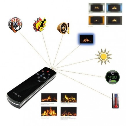 celsi electric fireplace universal remote thefireplaceleement