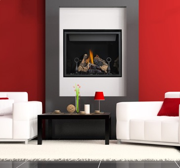 "40"" HD40 Gas Fireplace"