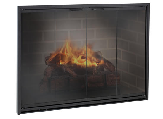 buy fireplace doors online the stiletto san francisco bay area rh thefireplaceelement com where to buy custom fireplace doors where to buy wood fireplace doors