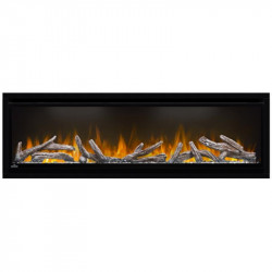 alluravision electric fireplace detail 03
