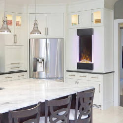 allure vertical series electric fireplace