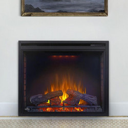 ascent electric 33 fireplace