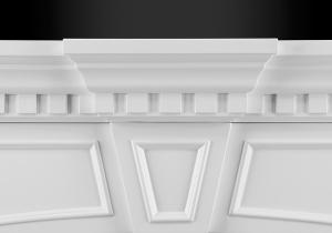 taylor dentil accent moulding fireplaces