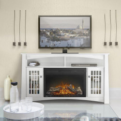 the adele electric fireplace main