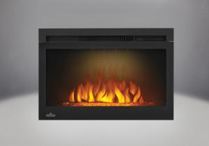 comes with the cinema glass 27 electric fireplace