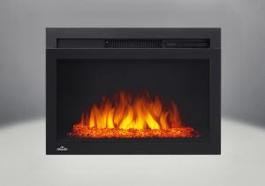 comes with the cinema glass 24 electric fireplace