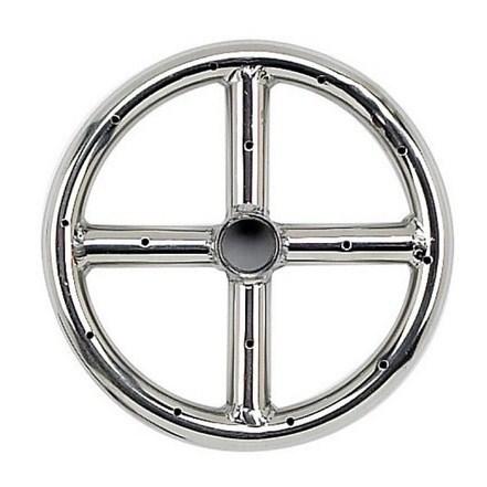 """6"""" Single-Ring 304 Stainless Steel Burner"""