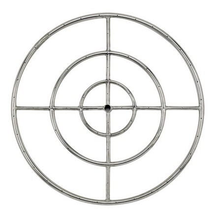 "48"" Triple-Ring 304 Stainless Steel Burner"
