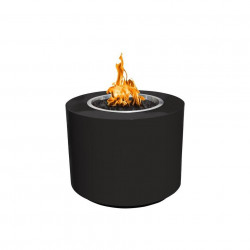 beverly fire pit powder coated black