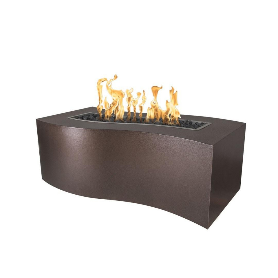 billow fire pit copper vein