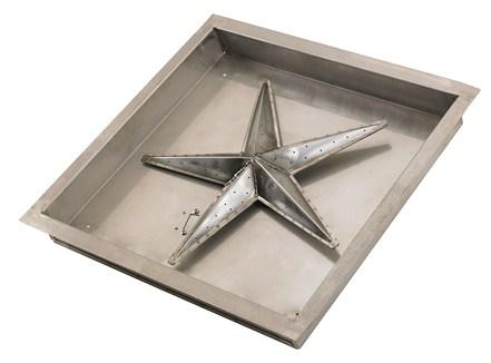 Buy Online Square Fire Pit Burner Kit Manual Spark