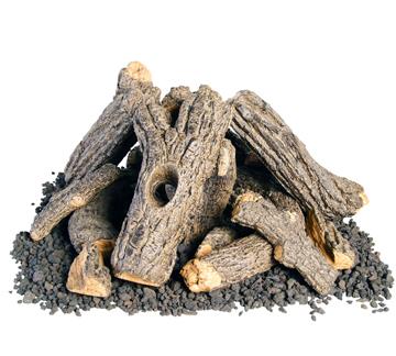 Campfyre Logs w/ Wood Chips