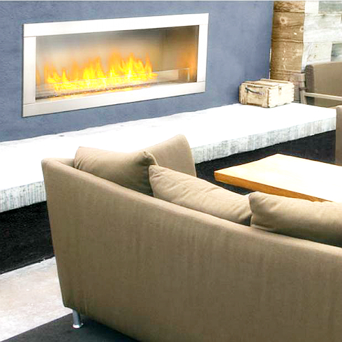 GSS48 Outdoor Linear Fireplace