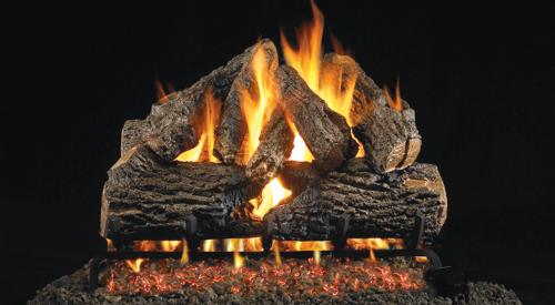 "18"" Standard Log Burner (Natural Gas only)"