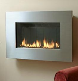 The Fireplace Element Standard Stainless Steel Surround