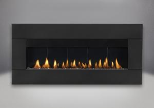surround in black shown with natural gas burner