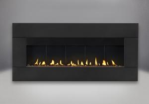 surround in black shown with propane burner