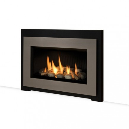 modern gas insert san francisco bay area ca the fireplace element