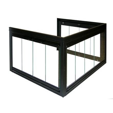 Glassfyre II Double Corner