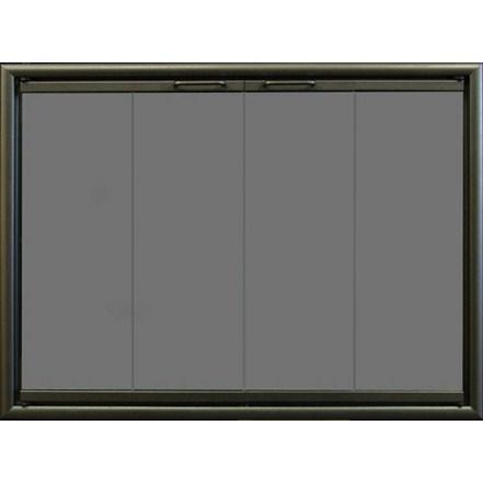 Buy Fireplace Doors Online Ventana Zero Clearance San Francisco Bay Area Ca The