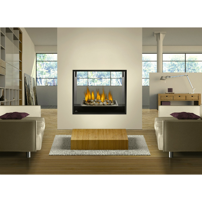 Buy Gas Fireplaces Online HD81 See Thru San Francisco Bay Area CA The