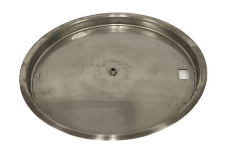 "31"" Stainless Steel Bowl Burner Pan (high capacity)"