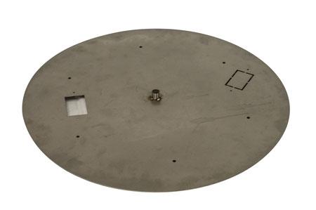 """18"""" SS Round Flat Pan"""