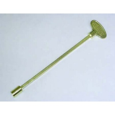 Key Valve Polished Brass 317-18B