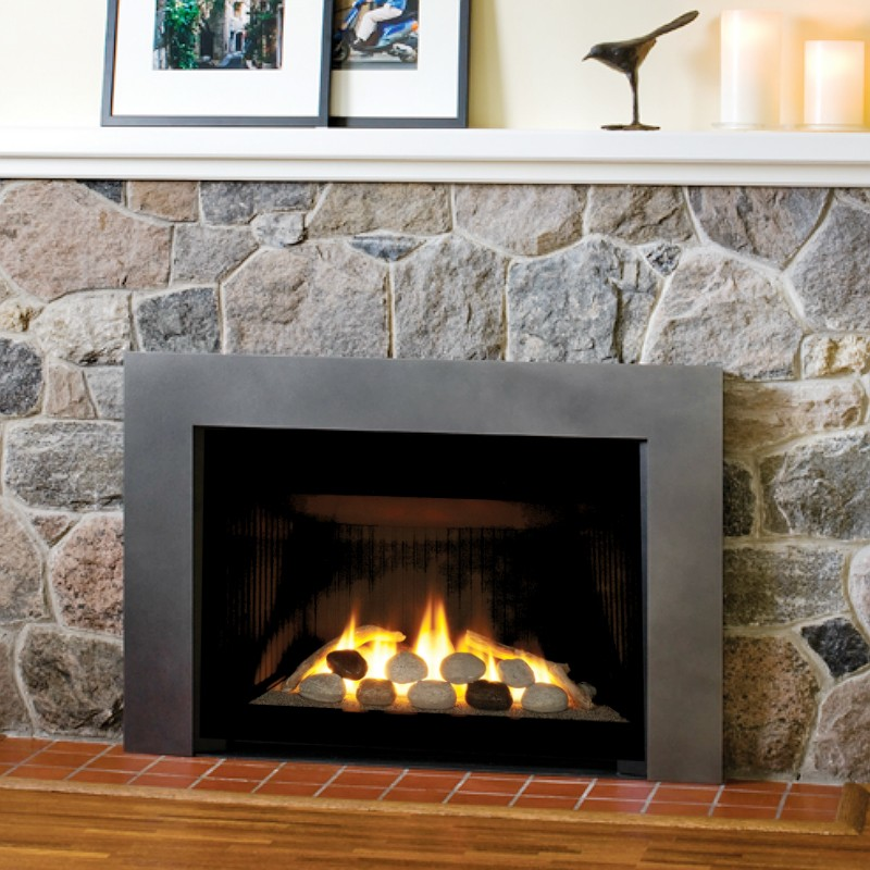 Buy gas inserts on display gas inserts online legend g4 for Gas modern fireplace