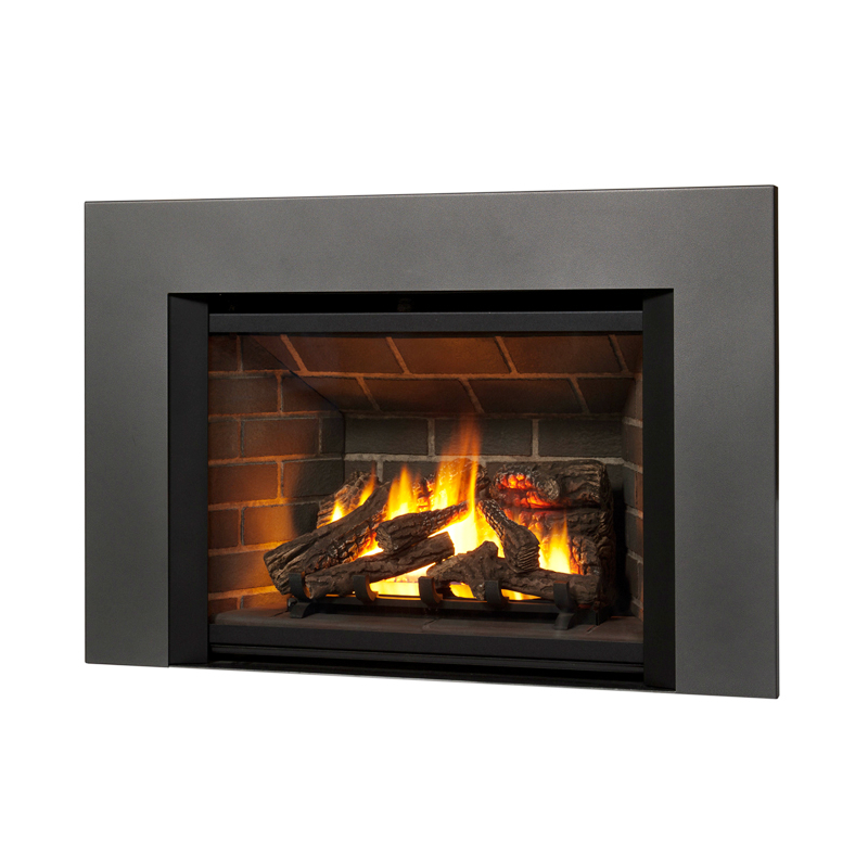 Contemporary fireplace insert home design Contemporary wood fireplace insert